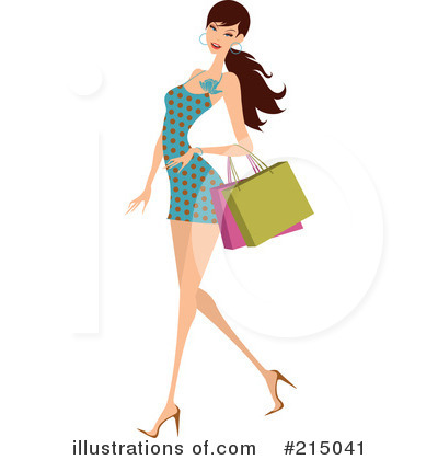 Shopping Clipart #215041 by OnFocusMedia