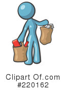 Shopping Clipart #220162 by Leo Blanchette