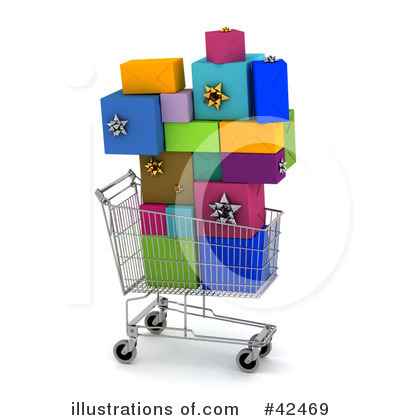 Presents Clipart #42469 by stockillustrations