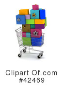 Royalty-Free (RF) Shopping Clipart Illustration #42469