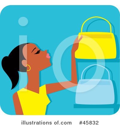 Purse Clipart #45832 by Monica