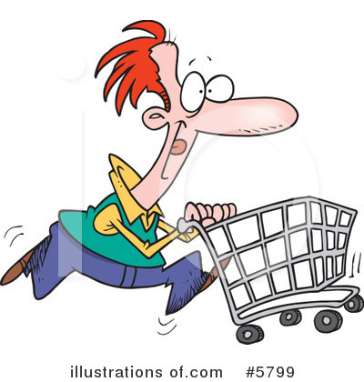 Shopper Clipart #5799 by toonaday