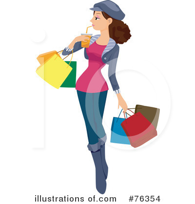 Shopping Bag Clipart #76354 by BNP Design Studio