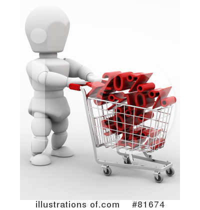Christmas Shopping Clipart #81674 by KJ Pargeter