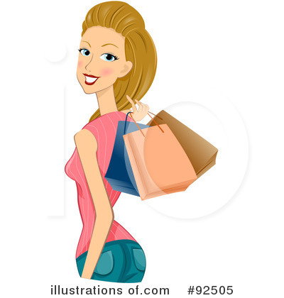 Shopping Bag Clipart #92505 by BNP Design Studio