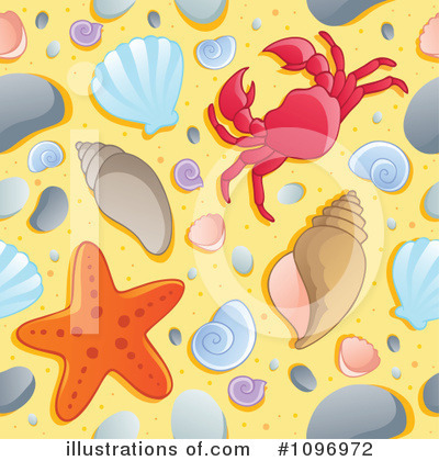Sea Shell Clipart #1096972 by visekart