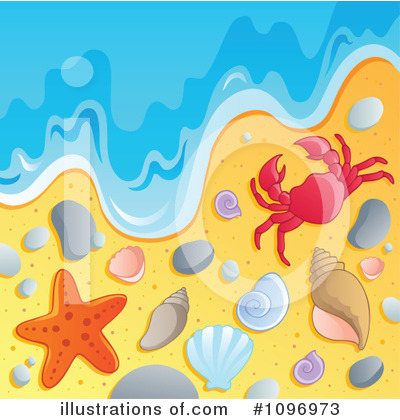 Seashell Clipart #1096973 by visekart