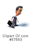 Short Businessman Character Clipart #57553 by Julos
