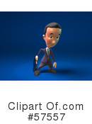 Short Businessman Character Clipart #57557 by Julos