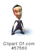 Short Businessman Character Clipart #57560 by Julos