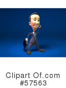 Short Businessman Character Clipart #57563 by Julos
