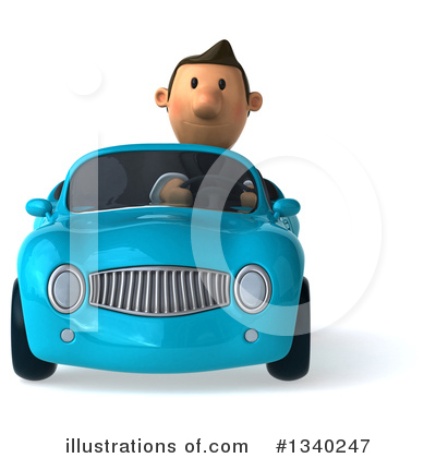 Short Caucasian Businessman Clipart #1340247 by Julos
