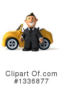 Short White Businessman Clipart #1336877 by Julos