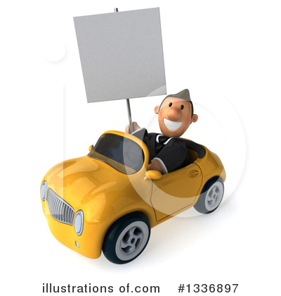 Short Caucasian Businessman Clipart #1336897 by Julos