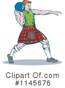 Shot Put Clipart #1145676