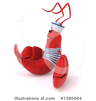 Sailor Lobster Clipart #1385004 by Julos