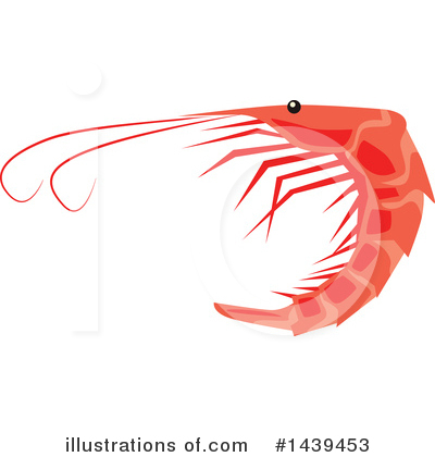 Prawn Clipart #1439453 by Vector Tradition SM