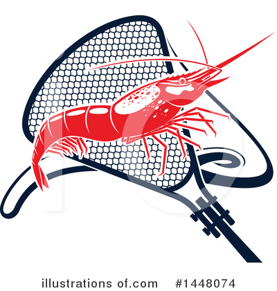 Prawn Clipart #1448074 by Vector Tradition SM