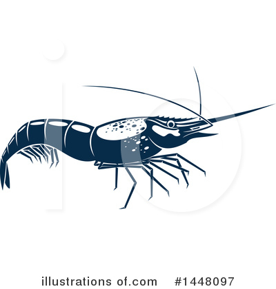 Prawn Clipart #1448097 by Vector Tradition SM