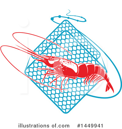 Prawn Clipart #1449941 by Vector Tradition SM