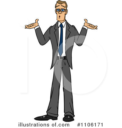 Businessman Clipart #1106171 by Cartoon Solutions