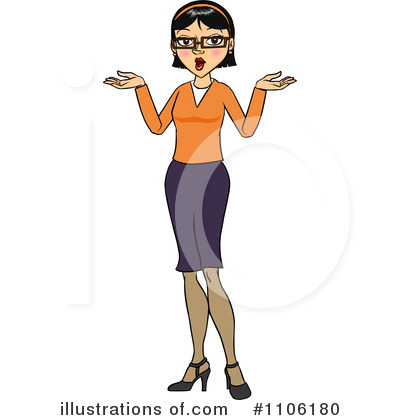 Businesswoman Clipart #1106180 by Cartoon Solutions