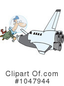 Royalty-Free (RF) Shuttle Clipart Illustration #1047944