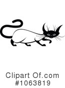 Siamese Cat Clipart #1063819 by Vector Tradition SM
