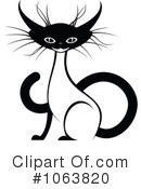 Siamese Cat Clipart #1063820 by Vector Tradition SM