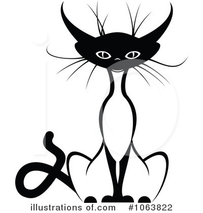 Cat Clipart #1063822 by Vector Tradition SM