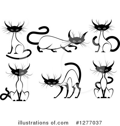 Cat Clipart #1277037 by Vector Tradition SM