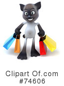 Siamese Cat Clipart #74606 by Julos