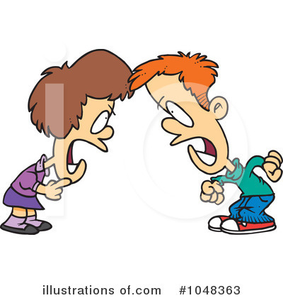 Siblings Clipart #1048363 - Illustration by toonaday