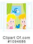 Siblings Clipart #1094686 by Alex Bannykh