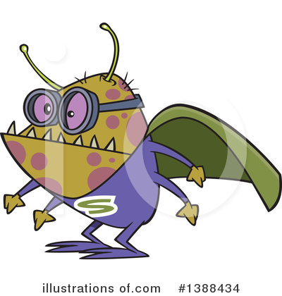 Royalty-Free (RF) Sick Clipart Illustration by toonaday - Stock Sample #1388434