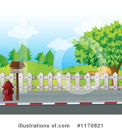 Sidewalk Clipart #1170821 - Illustration by Graphics RF