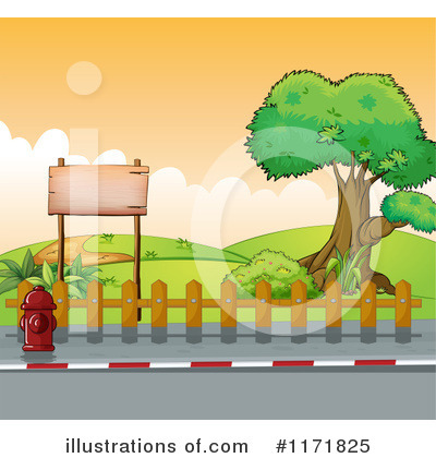 Sidewalk Clipart #1171825 - Illustration by Graphics RF