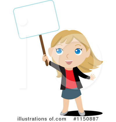 Little Girl Clipart #1150887 by Rosie Piter