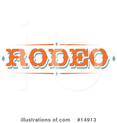 Rodeo Clipart #14913 by Andy Nortnik