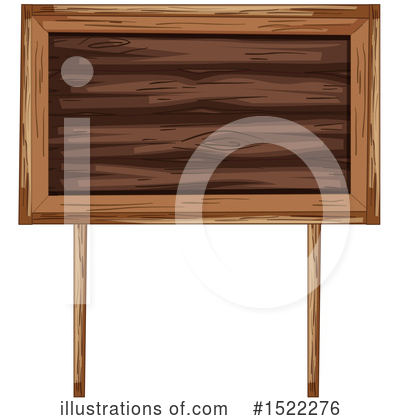Wood Sign Clipart #1522276 by Graphics RF