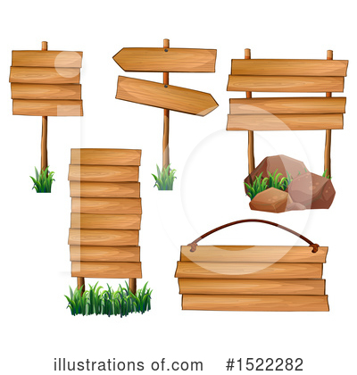 Wood Sign Clipart #1522282 by Graphics RF