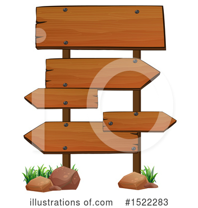 Wood Sign Clipart #1522283 by Graphics RF