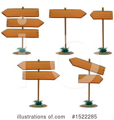Wood Sign Clipart #1522285 by Graphics RF