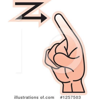 Sign Language Clipart #1257503 by Lal Perera