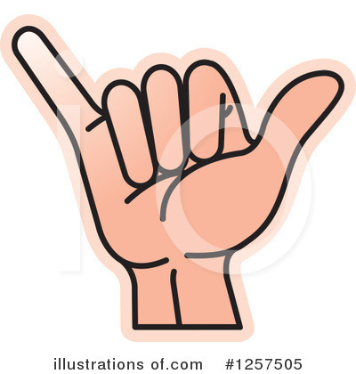 Sign Language Clipart #1257505 by Lal Perera