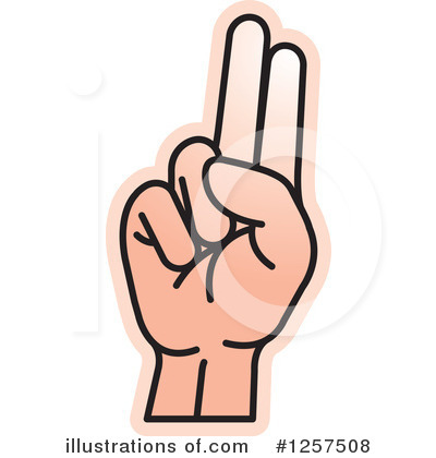 Sign Language Clipart #1257508 by Lal Perera
