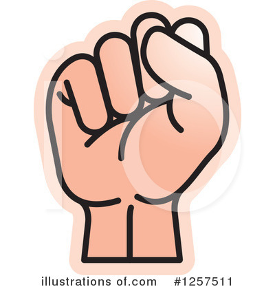 Hand Clipart #1257511 by Lal Perera