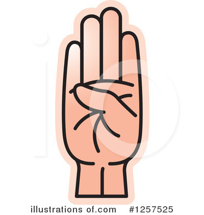 Hand Clipart #1257525 by Lal Perera
