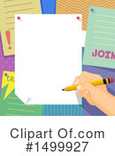 Signing Clipart #1499927 by BNP Design Studio