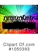 Royalty-Free (RF) Silhouetted Dancers Clipart Illustration #1050393